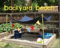 Classy Clutter: 10 inspiring outdoor ideas for kids