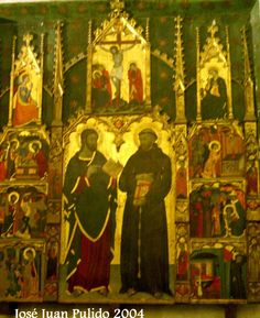 Catedral de Palma de Mallorca. Tesoro de la Sala Capitular. Retablo gótico.