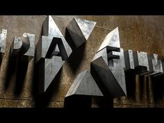 Photoshop: How to Create a 3D, Cinematic, Movie Title Design http://www.youtube.com/watch?v=7opqZMHfO6w