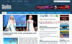 Wordpress Themes - Sweet Fashion Wordpress Theme #wordpress #fashion #wordpressthemes