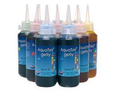 Lot de 12 flacons 100 ml encre à dessiner AQUATINT GEL