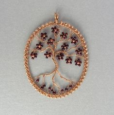 wire and beads -