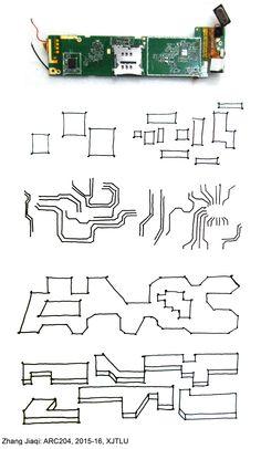 ARC204 (2015-16): Creative Hub. / Co-working Space in Suzhou - Interim Review - Zhang Jiaqi - Sketches