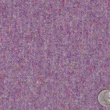 Purple Speckled Wool Tweed