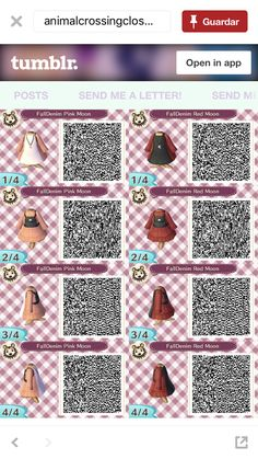animal crossing / animal crossing + animal crossing qr codes + animal crossing new horizons + animal crossing qr codes clothes + animal crossing new horizons qr code + animal crossing aesthetic + animal crossing memes + animal crossing wallpaper Animal Crossing Guide, Animal Crossing Qr Codes Clothes, Motif Acnl, Code Wallpaper, Ac New Leaf, Happy Home Designer, Motifs Animal, Post Animal, Pink Moon
