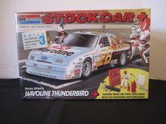 Havoline Thunderbird 1:25 Scale Monogram Stock Car Model Kit Davey Allison #2616 #Monogram
