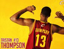 Cleveland Cavaliers TRISTAN THOMPSON Wallpaper Cleveland Cavs, Cleveland Rocks, Cavaliers Wallpaper, Quicken Loans Arena, Tristan Thompson, Basketball Teams, Lebron James, Ohio, Nba