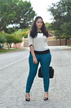 Moda Plus-size -Girl with Curves