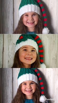Hat Free Crochet Pattern, Elf's … - OneClick. Bonnet Crochet, Crochet Baby, Knit Crochet, Crochet Hood, Rainbow Crochet, Crochet Stitch, Crochet Toys Patterns, Stuffed Toys Patterns, Knitting Patterns