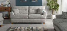 Freya 3 Seater Sofa Standard Back - ScS