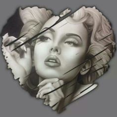 Dislike Marilyn but love me some Chicana Style. Marilyn Monroe Wallpaper, Marilyn Monroe Drawing, Marilyn Monroe And Audrey Hepburn, Marilyn Monroe Portrait, Marilyn Monroe Tattoo, Marilyn Monroe Quotes, Chicano Tattoos, Chicano Art, Rockabilly
