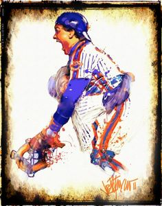 1986 Mets Carter Orosco