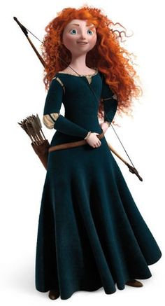 Princess Merida is the protagonist of Disney/Pixar's 2012 animated feature film, Brave. She is a Scottish princess and the daughter of Queen Eleanor and King Fergus. Merida is the eleventh official Disney Princess and the first to originate from Pixar. Merida Cosplay, Disney Cosplay, Brave Merida, Merida Disney, Brave Disney, Merida Brave Costume, Disney Pixar, Art Disney, Disney Wiki