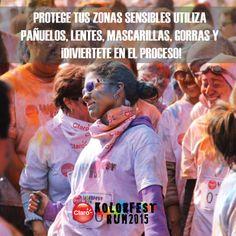 Proteger tus zonas sensibles puede ser algo realmente divertido. #KolorFestRunGT #muchomásqueunacarrera #muypronto