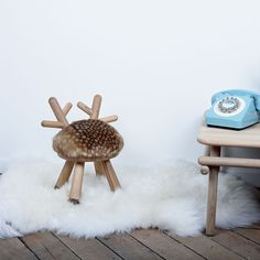 The Bambi chair by EO is a fun, deer inspired stool, ideal for a baby's nursery or child's playroom. Free UK delivery from someday designs. Design Shop, Bambi, Kids Stool, Kids Bedroom Furniture, Children Furniture, American Walnut, Steel Furniture, Japanese Artists, Kids Decor