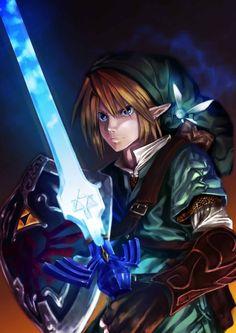 Link, Navi, Mastersword