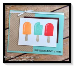 My pdf and video tutorial gives tips and tricks on the Cool Treats Bundle.