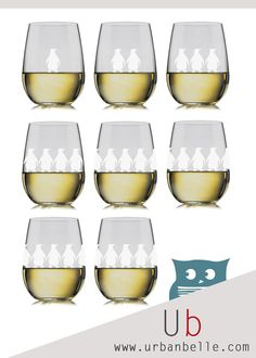 Penguin glasses