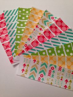 K24 Arrow Washi Stickers for Erin Condren Life by PlannerKate1