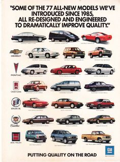 GM+Putting+Quality+on+the+Road+Magazine+Advertisement