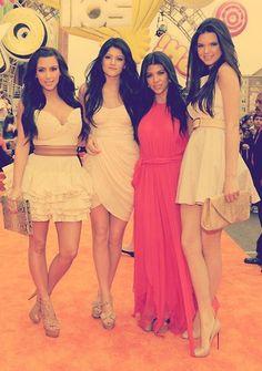Kourtney, Kim, Kendall & Kylie ♥