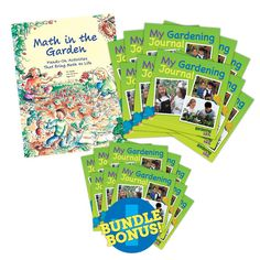 Use a mathematical lens to take children on an education-filled journey of the garden. Includes 10 free gardening journals!