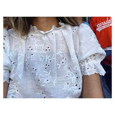 the broderie anglaise