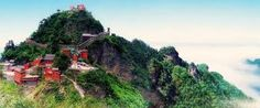 I would love to visit Wudang Mountain in China, where the film 'Kung Fu' was filmed. Amazing place