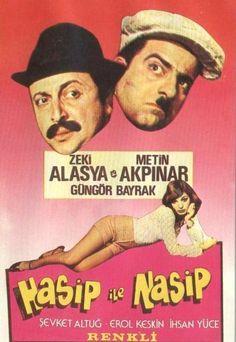 """"""" Hasip ile Nasip """" (1976) Yönetmen:Atıf Yılmaz Zeki Alasya -Metin Akpınar"""
