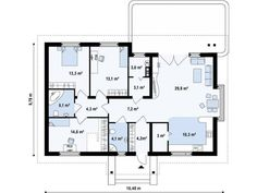 case simple si frumoase Tree Bedroom, House Plans, Floor Plans, How To Plan, Simple, Case, Projects, Christian Dating, Dating Advice