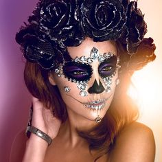"""1,037 Likes, 29 Comments - ✖️ JORDAN LIBERTY ✖️ (@jordanliberty) on Instagram: """"100,000 views and counting! Here's another look at my #diamondsugarskull look for #diadelosmuertos…"""""""