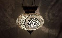 Moroccan mosaic hanging lamp glass chandelier light lampen handmade candle m 43 #Handmade #Moroccan