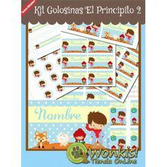 El Principito 2 - Kit Candy Bar (Golosinas) #candybar http://www.wonkistienda.com.ar/el-principito-2-kit_golosinas.html