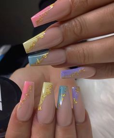 Bling Acrylic Nails, Acrylic Nails Coffin Short, Simple Acrylic Nails, Best Acrylic Nails, Gel Nails, Ballerina Acrylic Nails, Pink Nails, Coffin Nails, Nail Polish