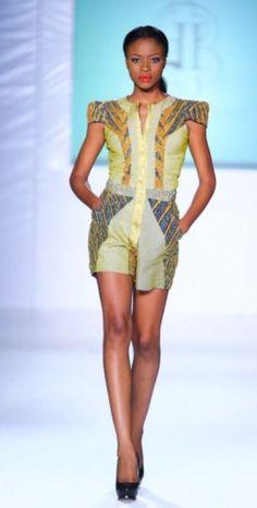 Ghana fashion week 2012
