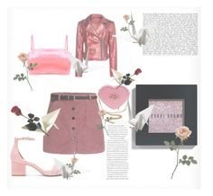 """pink grunge"" by tata-s-s ❤ liked on Polyvore featuring IRO, Bobbi Brown Cosmetics and Steve Madden"