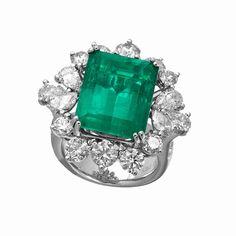 Jye Emerald Ring RE24243b