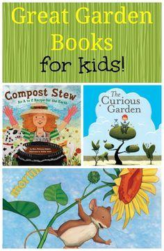 Get kids gardening with these imaginative kids garden books! Adventure, excitement, and dirt await! #gardening #kidsbooks via @cpjsouthern