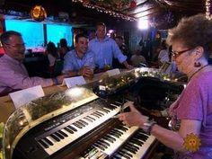 Keyboard virtuoso Piano Pat rocks the Sip 'n Dip Lounge
