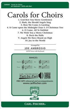 Carols for Choirs (Octavo)
