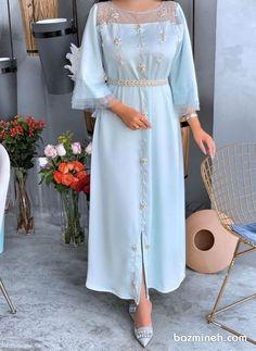 Modest Dresses, Elegant Dresses, Beautiful Dresses, Arab Fashion, Muslim Fashion, Fashion Women, Modesty Fashion, Fashion Outfits, Sporty Fashion