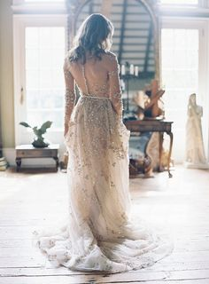 Ethereal wedding dress - How To Choose Your Wedding Shoes From Today's Fabulous Choices – Ethereal wedding dress Ethereal Wedding Dress, Simple Wedding Gowns, Lace Wedding, Dress Wedding, Wedding Hair, Neutral Wedding Colors, Ethereal Beauty, Luxury Wedding, Bridal Dresses