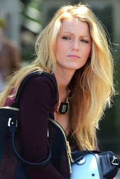 Blake Lively has the best blonde hair!