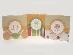 Fast 3 x 3 Cards by Vickster07 - Cards and Paper Crafts at Splitcoaststampers