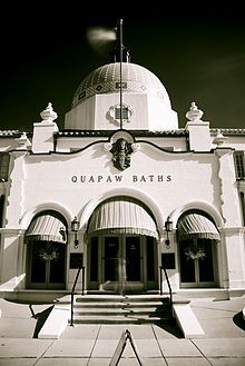 Quapaw Baths - couples massage and bathing in the Hot springs!