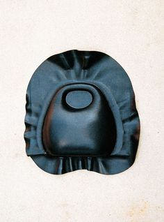// Molded leather bag - Lemaire