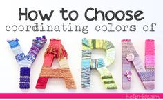 How to Choose Coordinating Yarn Colors #knitting #crochet
