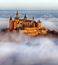Hohenzollern Castle, Germany | 14 of the Most Amazing Fairy Tales Castles you should See in a Lifetime