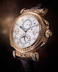 Assista o vídeo da impressionante produção do relógio The Grandmaster Chime da empresa suíça Patek Philippe.
