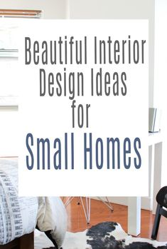 Beautiful interior design ideas for small homes. Having a tiny home does not mean you have to sacrifice having  stylish one here are some cool decor hacks for a small house to make it look spacious and fabulous   #smallhome #tinyhome #maximisespace #smallhomedecor